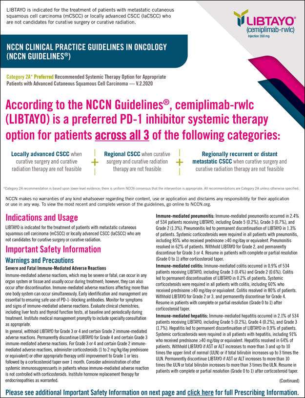 NCCN Guidelines Flash Card