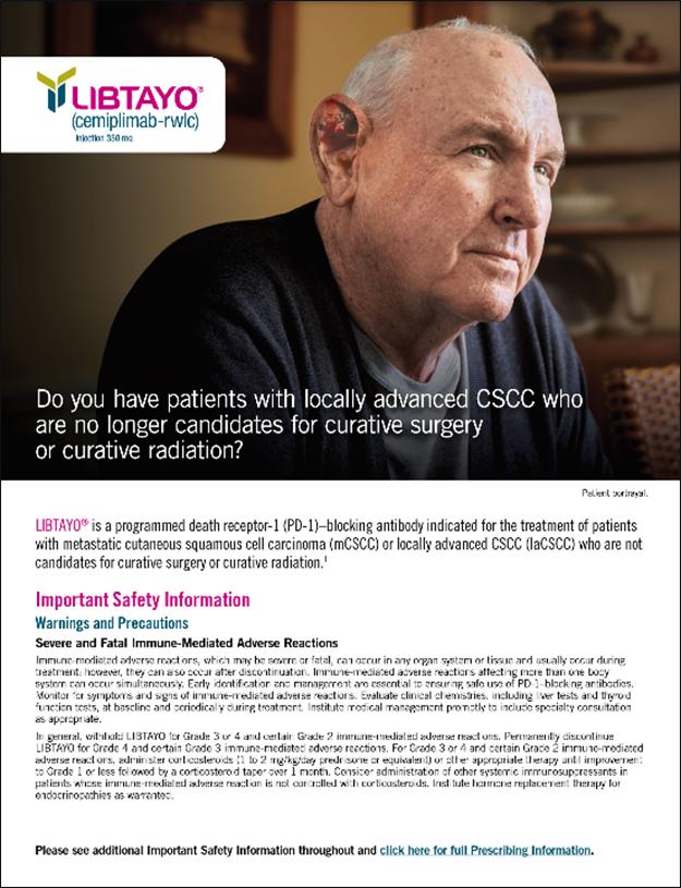 Advanced CSCC Patient Brochure