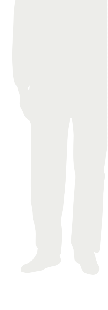 Silhouette of woman with UTUC